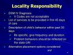 locality responsibility1