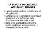 la scuola di chicago william i thomas1