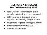 ricerche a chicago the taxi dance hall 1932