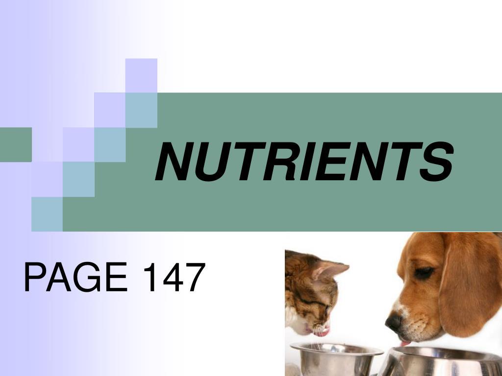 nutrients l.