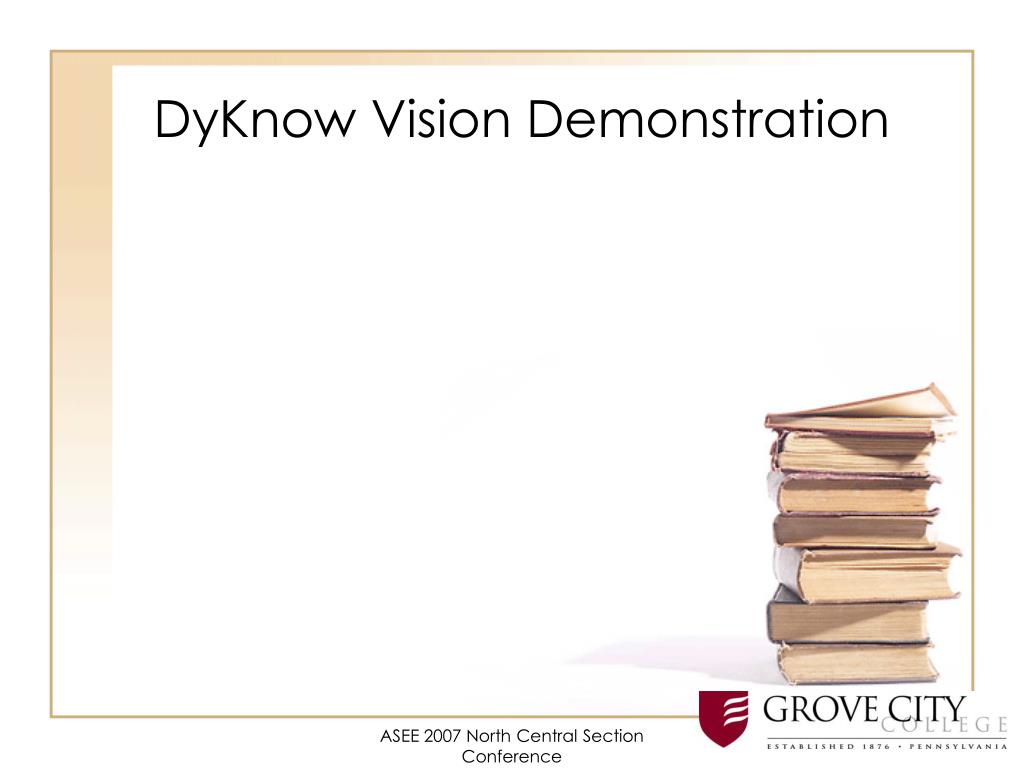 DyKnow Vision Demonstration