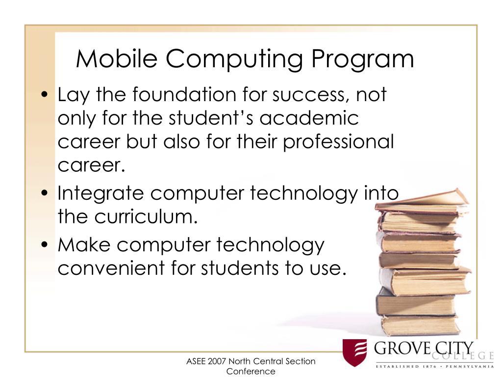 Mobile Computing Program