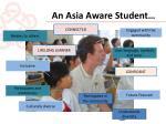an asia aware student