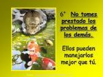 6 no tomes prestado los problemas de los dem s ellos pueden manejarlos mejor que t