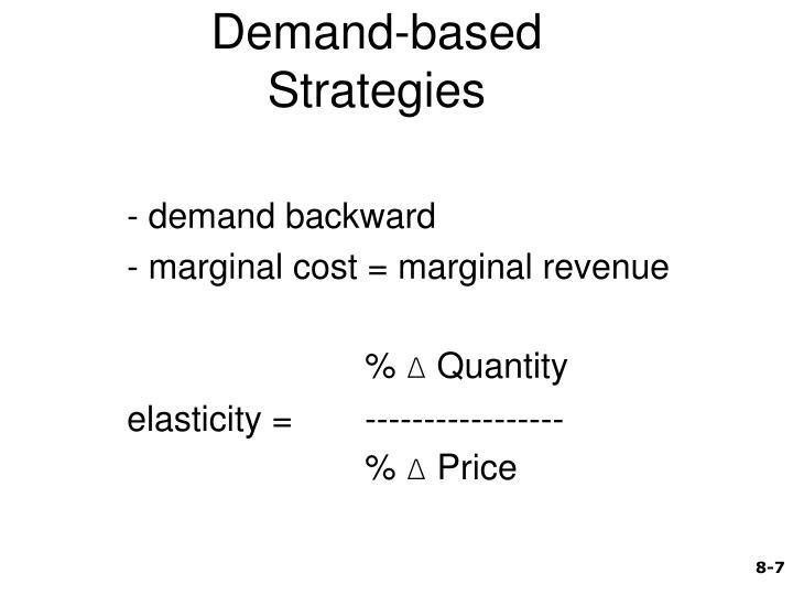 Demand-based