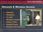 network wireless access
