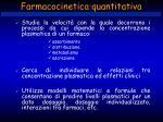 farmacocinetica quantitativa