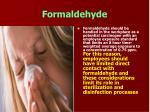 formaldehyde58