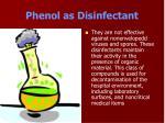 phenol as disinfectant32