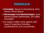 phenolics