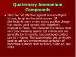 quaternary ammonium compounds66