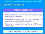 5 dificultades de aprendizaje etiolog a7