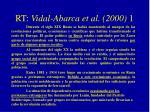 rt vidal abarca et al 2000 11