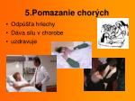 5 pomazanie chor ch