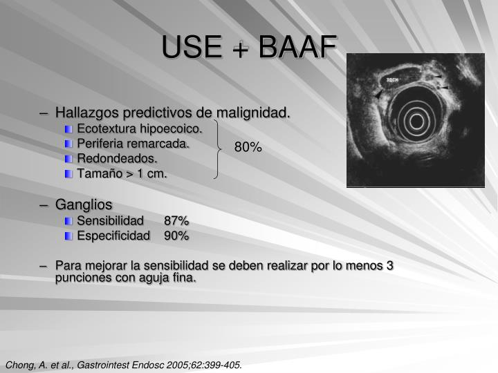 USE + BAAF