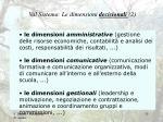 val sistema le dimensioni decisionali 2