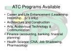 atc programs available