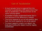 law of acceleration2