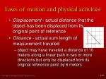 laws of motion and physical activities4