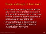 torque and length of lever arms1