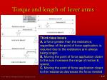 torque and length of lever arms9