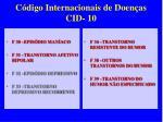 c digo internacionais de doen as cid 101