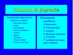 sintomas da depress o