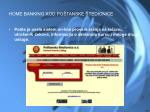 home banking kod po tanske tedionice