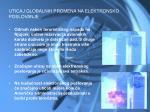 uticaj globalnih promena na elektronsko poslovanje