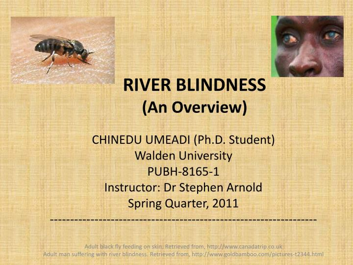 river blindness an overview n.