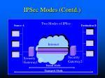 ipsec modes contd1