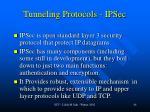tunneling protocols ipsec