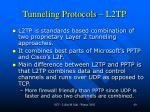 tunneling protocols l2tp