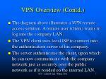 vpn overview contd