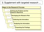 3 supplement with targeted research
