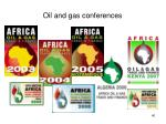 oil and gas conferences