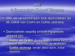 ibd inflammatory bowel disease