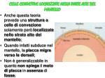 celle convettive localizzate nella parte alte del mantello