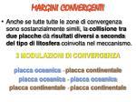 margini convergenti