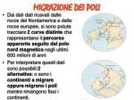migrazione dei poli1