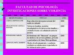 facultad de psicolog a investigaciones sobre violencia2
