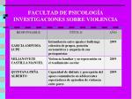 facultad de psicolog a investigaciones sobre violencia3