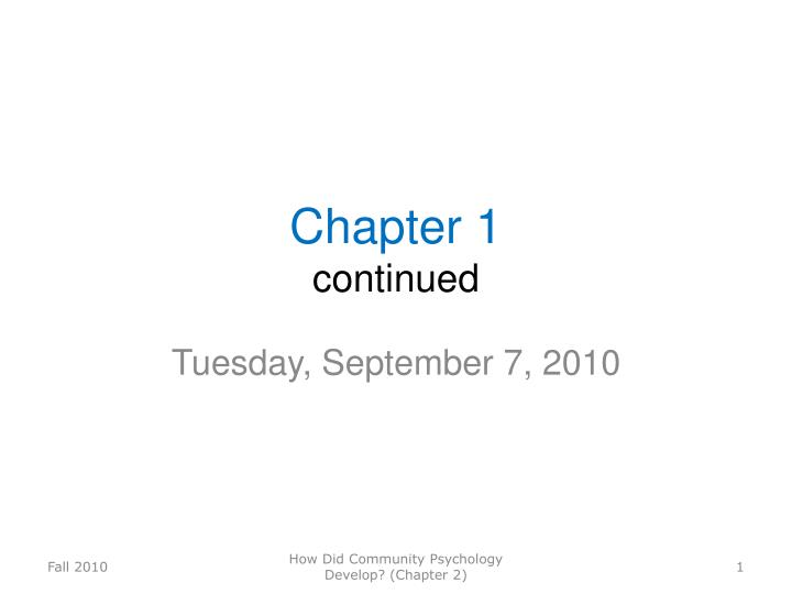 chapter 1 continued n.