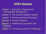 spsi studies