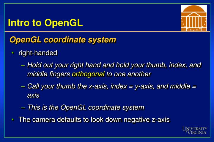 Intro to OpenGL