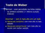 teste de weber1