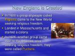 new england is created