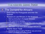 the atlantic slave trade1