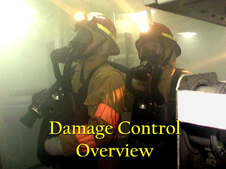 damage control overview n.