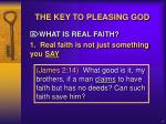 the key to pleasing god2